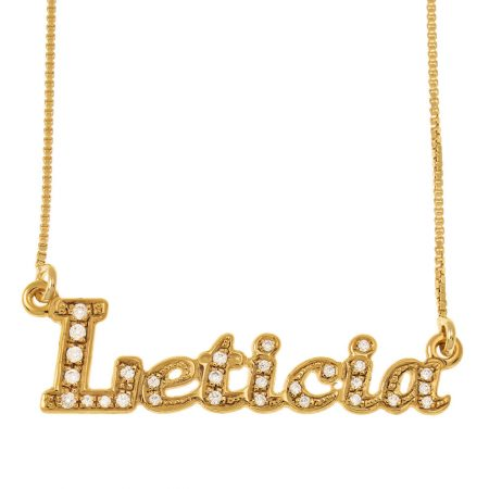 Sparkly Name Necklace