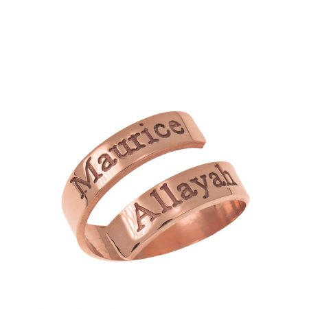 Engravable Ring Wrap in