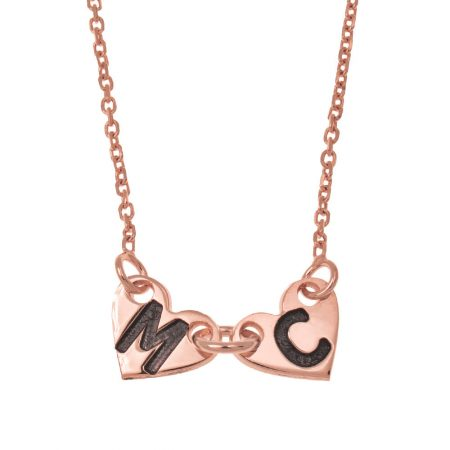 Attached Forever Hearts Necklace