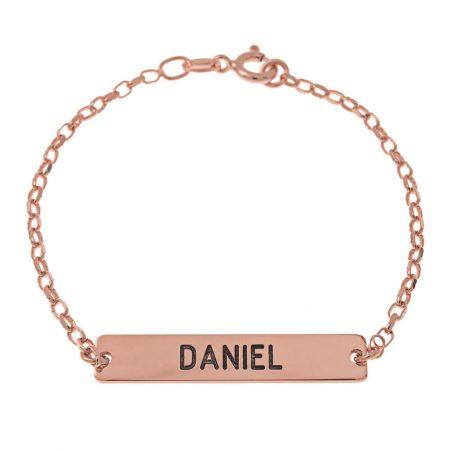 Dainty Bar Name Bracelet