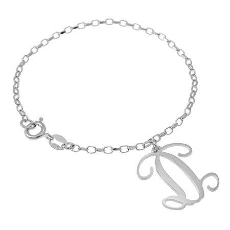 Dangling Monogram Bracelet
