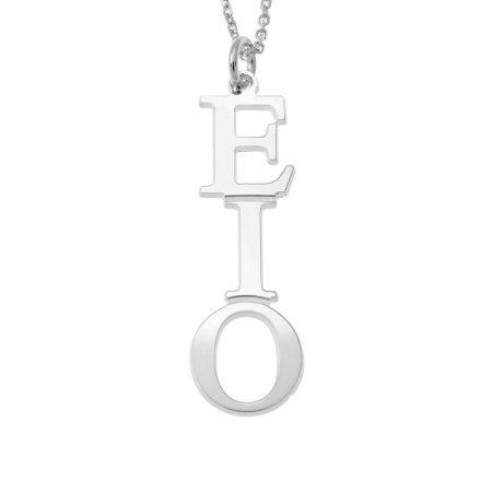 Greek Vertical Necklace