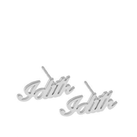 Personalised Name Stud Earrings
