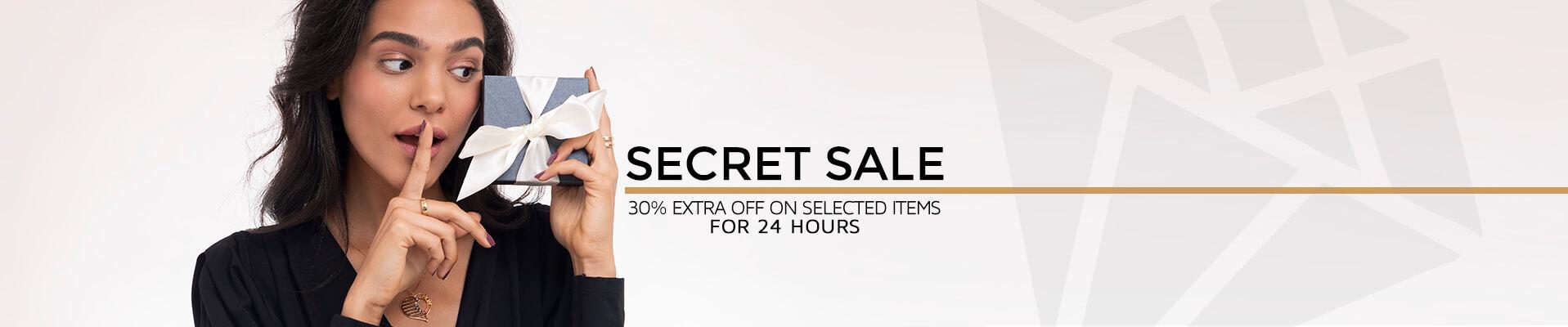 secret-sale web banner
