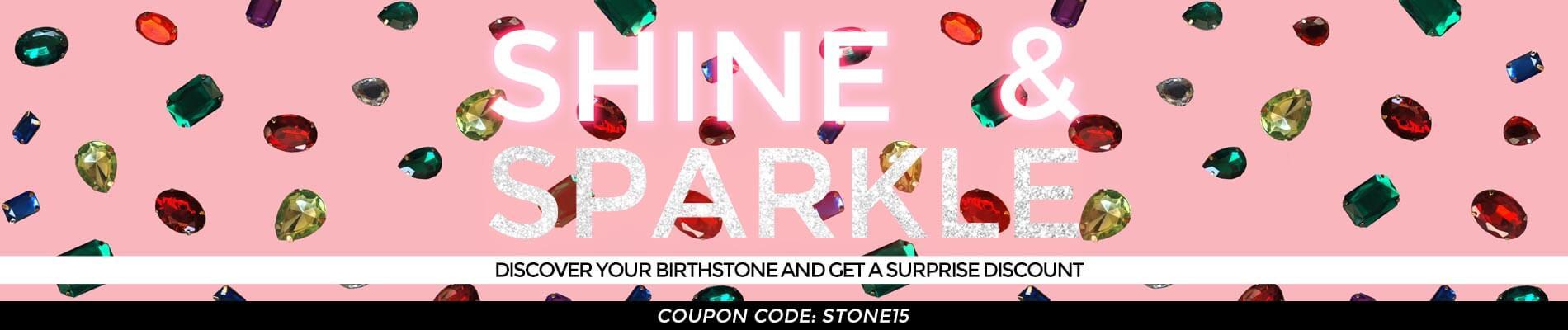 Birthstone of the month Sale 21.06 Top banner desktop