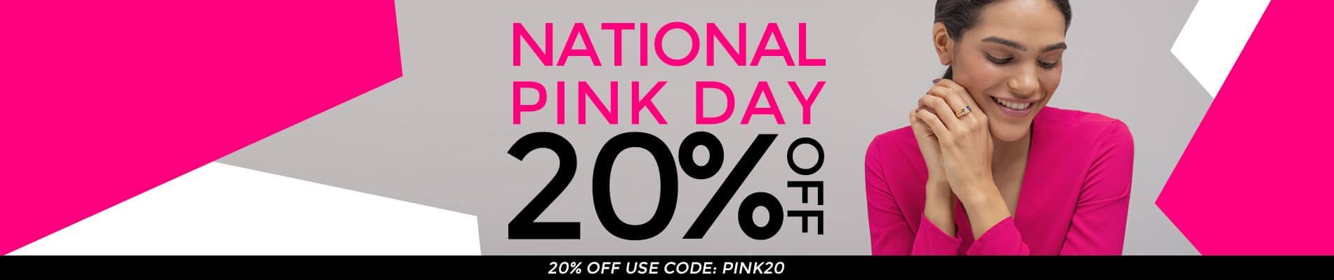 National pink day 23.06 Top banner desktop
