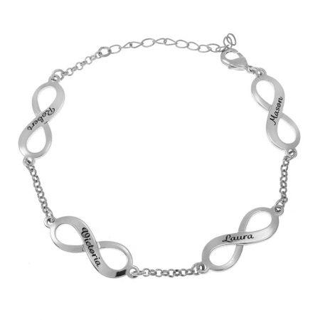 Multiple Infinity Mother Bracelet