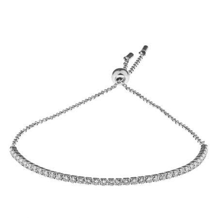 Cubic Zirconia Tennis Bracelet