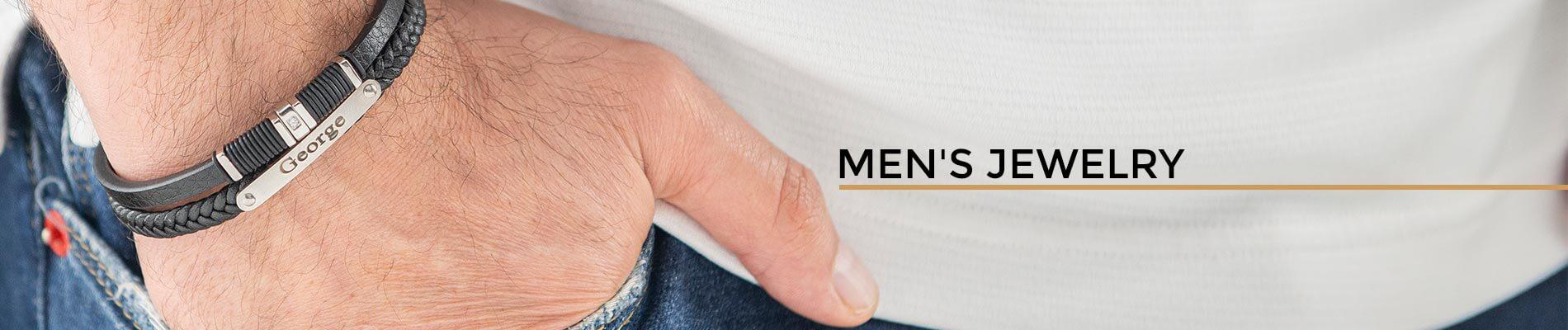 Men Jewelry Banner Desktop