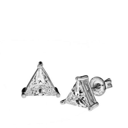 Triangle Zircon Earrings