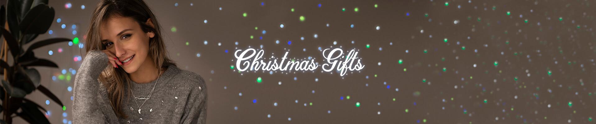Christmas gifts desktop banner