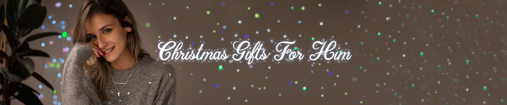 Christmas gifts for him desktop banner